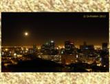 Full Moon at Cape Town